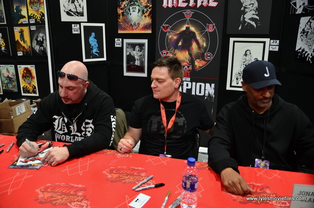 Awesome Con 2018 - capullo, snyder and glampion at table
