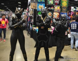 awesome con 2018 cosplay -black panther trio