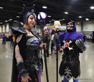 awesome con 2018 cosplay -evil-lyn and skeletor