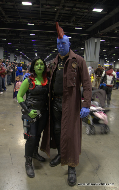 awesome con 2018 cosplay -gamora and yondu 2