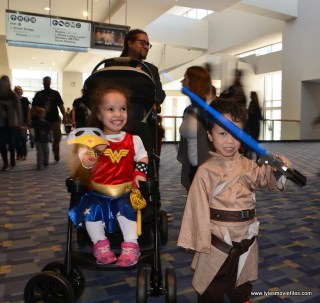 awesome con 2018 cosplay -kid wonder woman and jedi