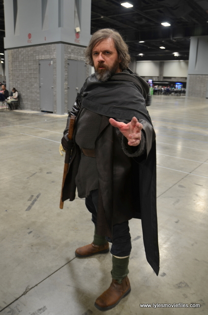awesome con 2018 cosplay -last jedi luke full