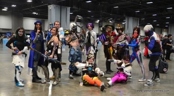 awesome con 2018 cosplay -overwatch group