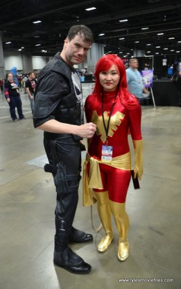 awesome con 2018 cosplay -punisher and dark phoenix