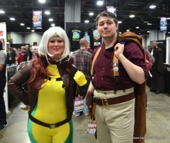 awesome con 2018 cosplay -rogue and malcolm