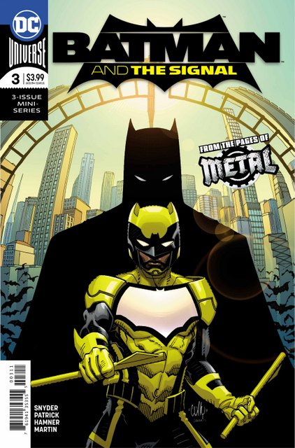 batman and the signal 3 cover