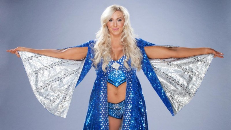 charlotte flair with robe