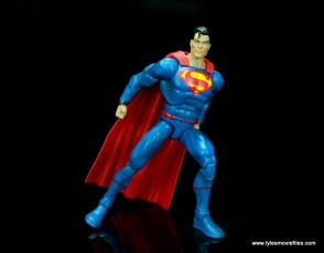 dc multiverse superman rebirth figure review - about to take off