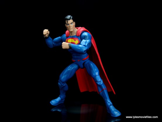 dc multiverse superman rebirth figure review - battle ready