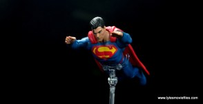 dc multiverse superman rebirth figure review - flying