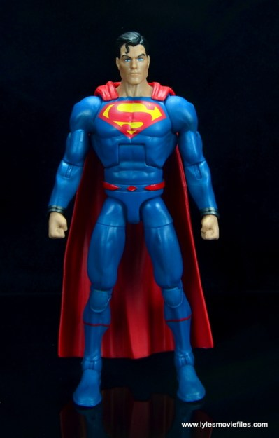 dc multiverse superman rebirth figure review - front