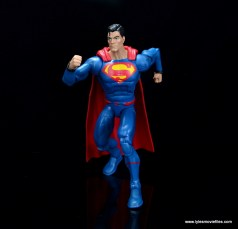 dc multiverse superman rebirth figure review - running