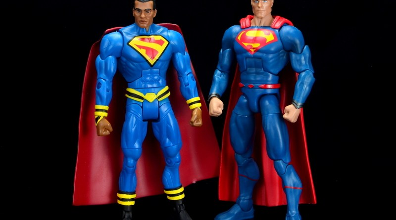dc multiverse superman rebirth figure review - with earth 23 superman