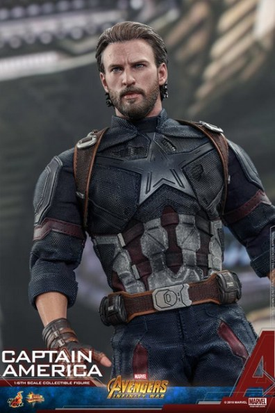 hot toys avengers infinity war captain america -outfit closeup