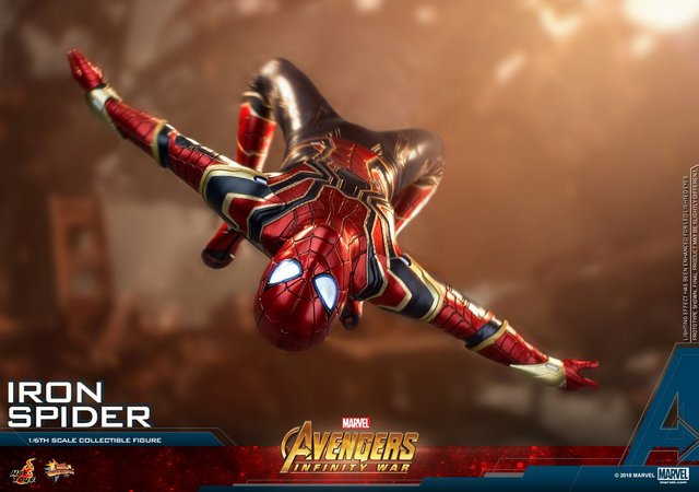 Hot Toys Avengers Infinity War Iron Spider-Man figure revealed