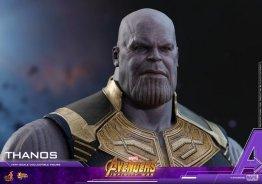 hot toys avengers infinity war thanos figure - head detail