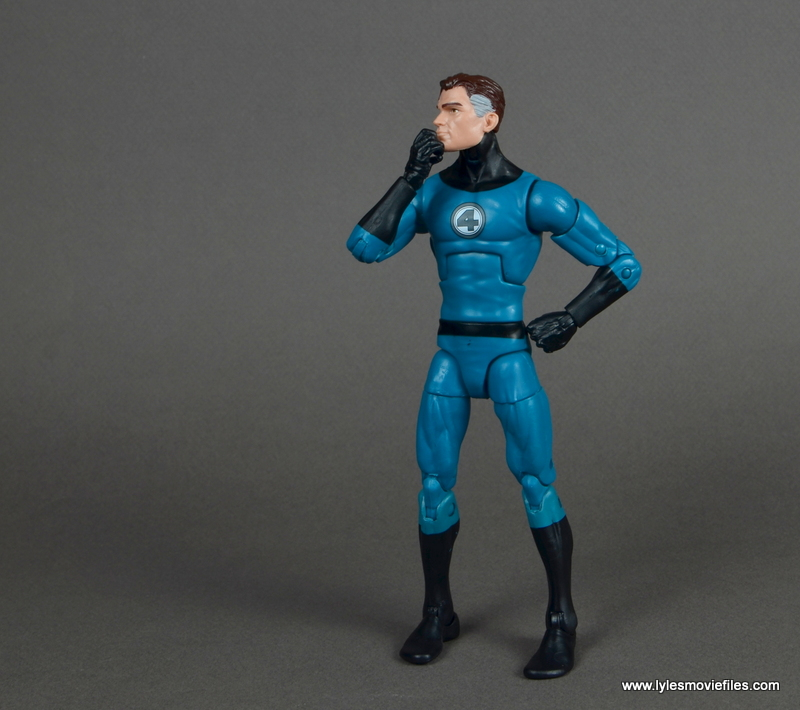 marvel legends mister fantastic figure review - deep in thought