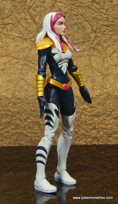marvel legends songbird figure review - right side