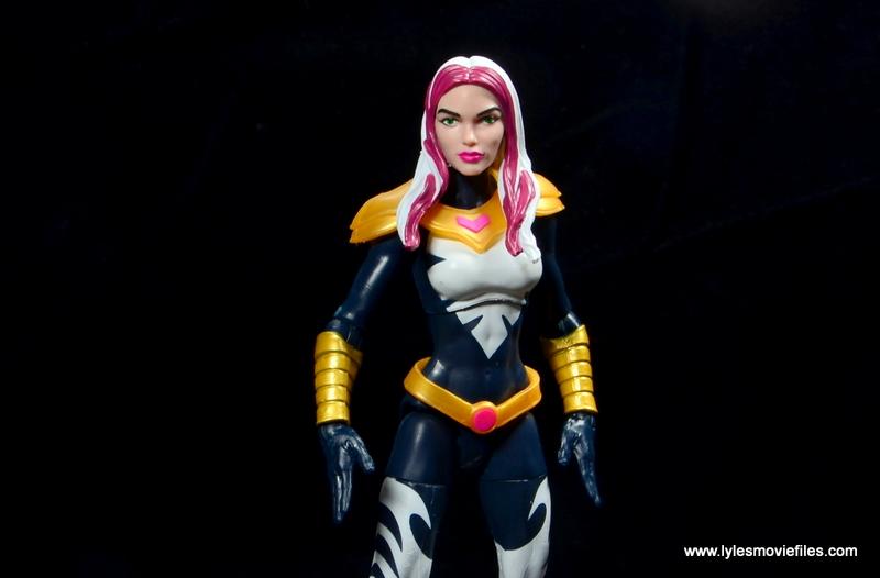marvel legends songbird figure review - wide shot