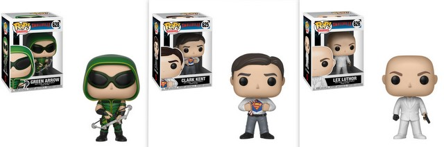 smallville pop figures