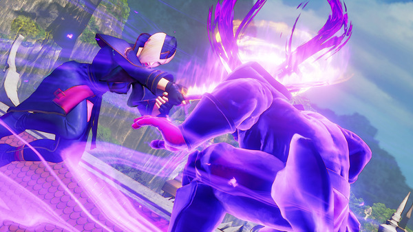 street fighter v arcade edition falke psycho power charged staff