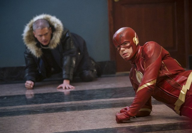 the flash fury rogue - citizen cold and the flash