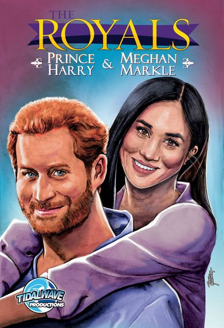 the royals prince harry and meghan markle cover