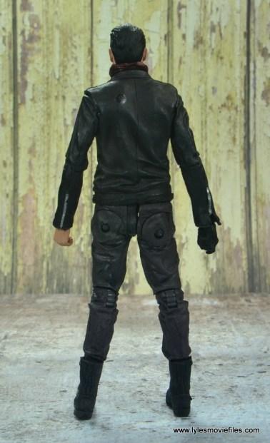 the walking dead negan figure review - rear