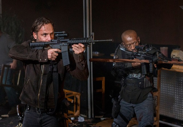 the walking dead still gotta mean something -rick and morgan