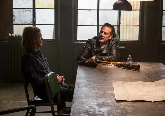 the walking dead worth review - dwight and negan