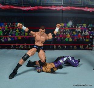 wwe elite 49 randy orton figure review - kneedrop to rey mysterio