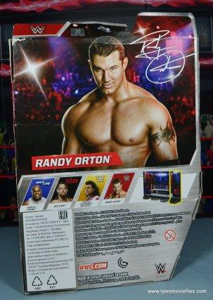 wwe elite 49 randy orton figure review - package rear