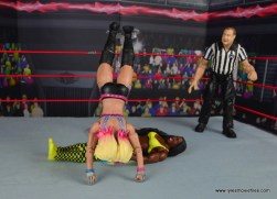 wwe elite 53 alexa bliss figure review -backflip