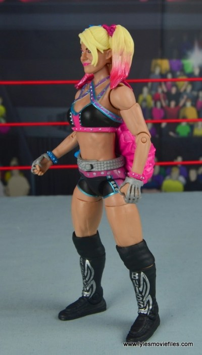 wwe elite 53 alexa bliss figure review - left side