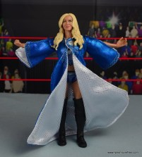 wwe elite 54 charlotte flair figure review - arms up with robe