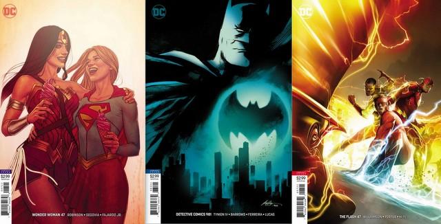 dc comics reviews 5/23/18