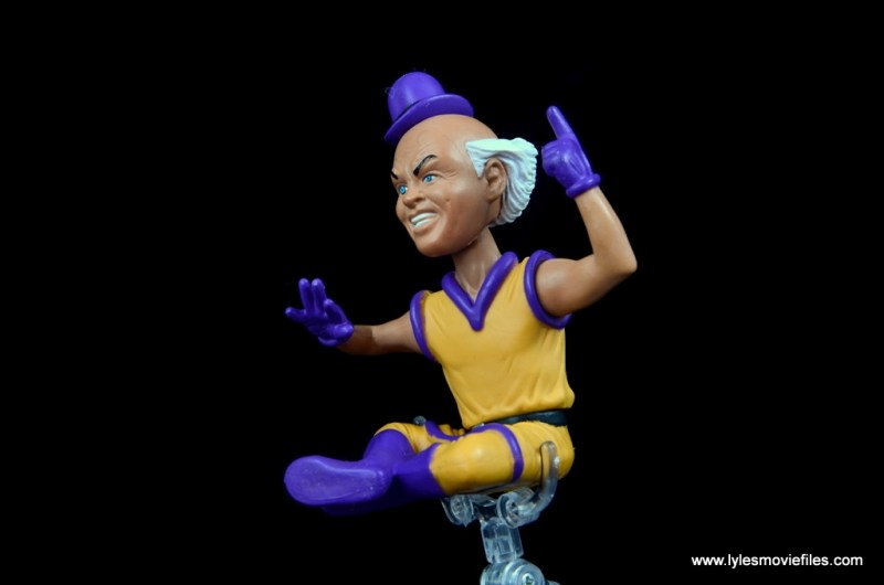 DC Signature Series Mister Mxyzptlk figure review - hovering left side