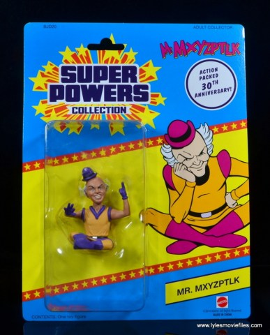 DC Signature Series Mister Mxyzptlk figure review - package front