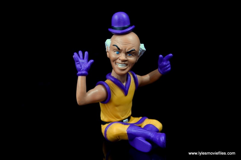 DC Signature Series Mister Mxyzptlk figure review - turning
