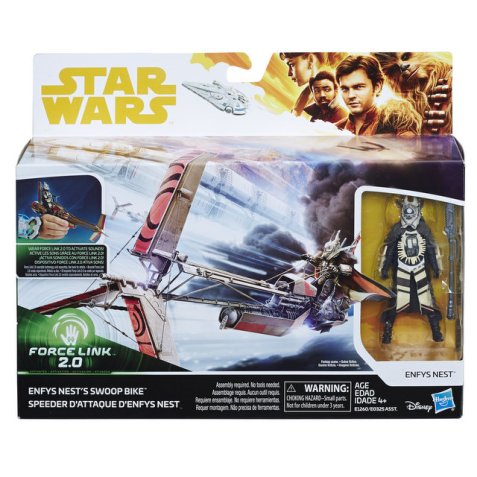 SOLO A STAR WARS STORY CLASS A VEHICLE Nemesis & Swoop Bike - in pkg