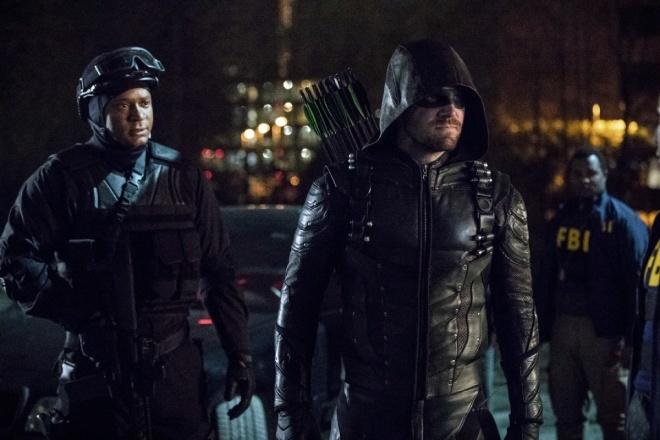 arrow life sentence review -diggle and green arrow