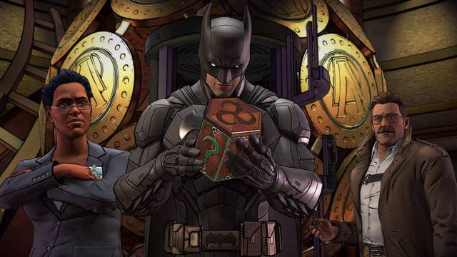 batman the enemy within - amanda waller, batman and commissioner gordon