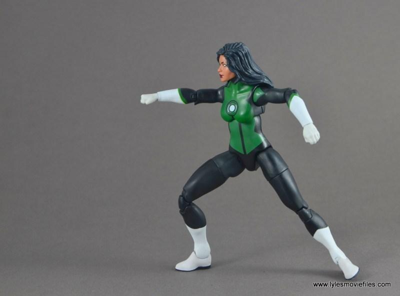 dc multiverse jessica cruz figure review - aiming ring