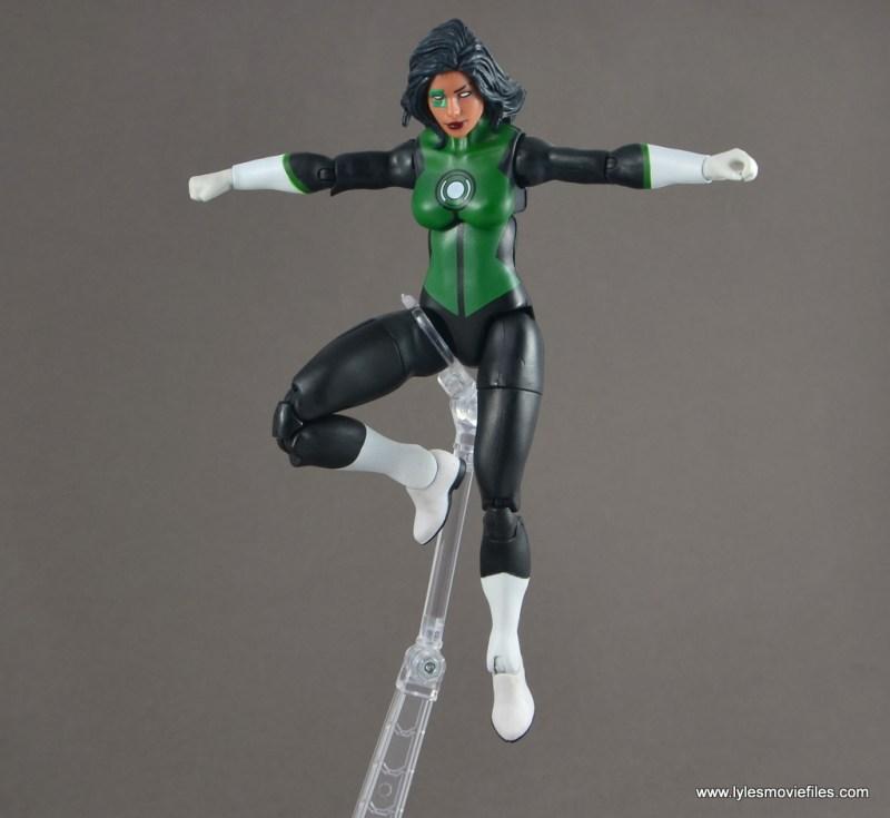 dc multiverse jessica cruz figure review - flying