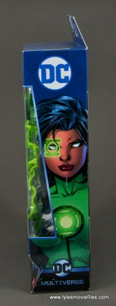 dc multiverse jessica cruz figure review - package side 2