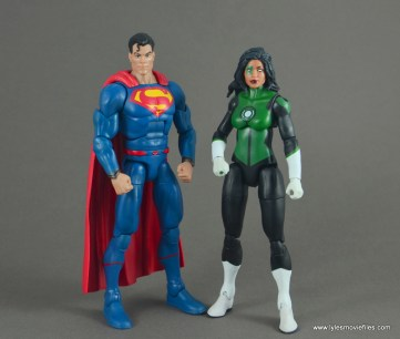 dc multiverse jessica cruz figure review - with dc rebirth superman