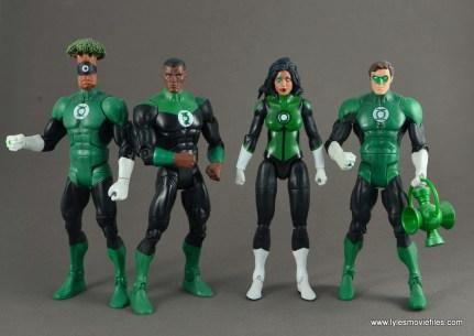 dc multiverse jessica cruz figure review - with green lanterns