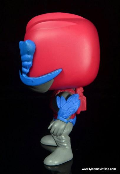 funko pop! stratos figure review -left side