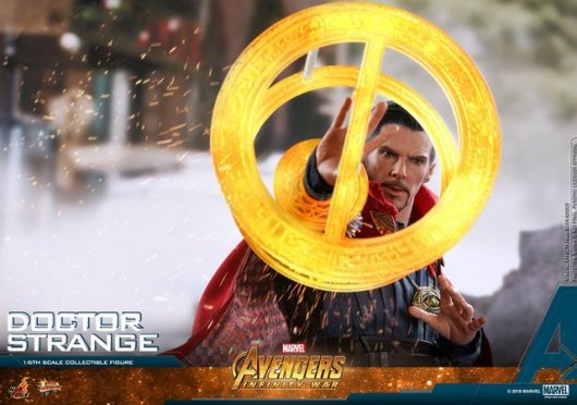 hot toys avengers infinity war doctor strange figure -circles