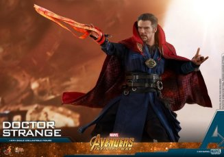 hot toys avengers infinity war doctor strange figure -lash effect